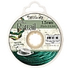 Rattail Cord 1.5mm 20 Yds With Re-useable Bobbin Dark hunter Green